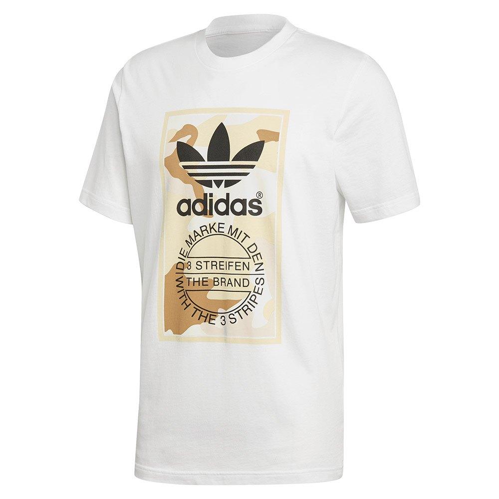 Adidas para hombre lengua Etiqueta 2 Gráfico Camiseta Mangas
