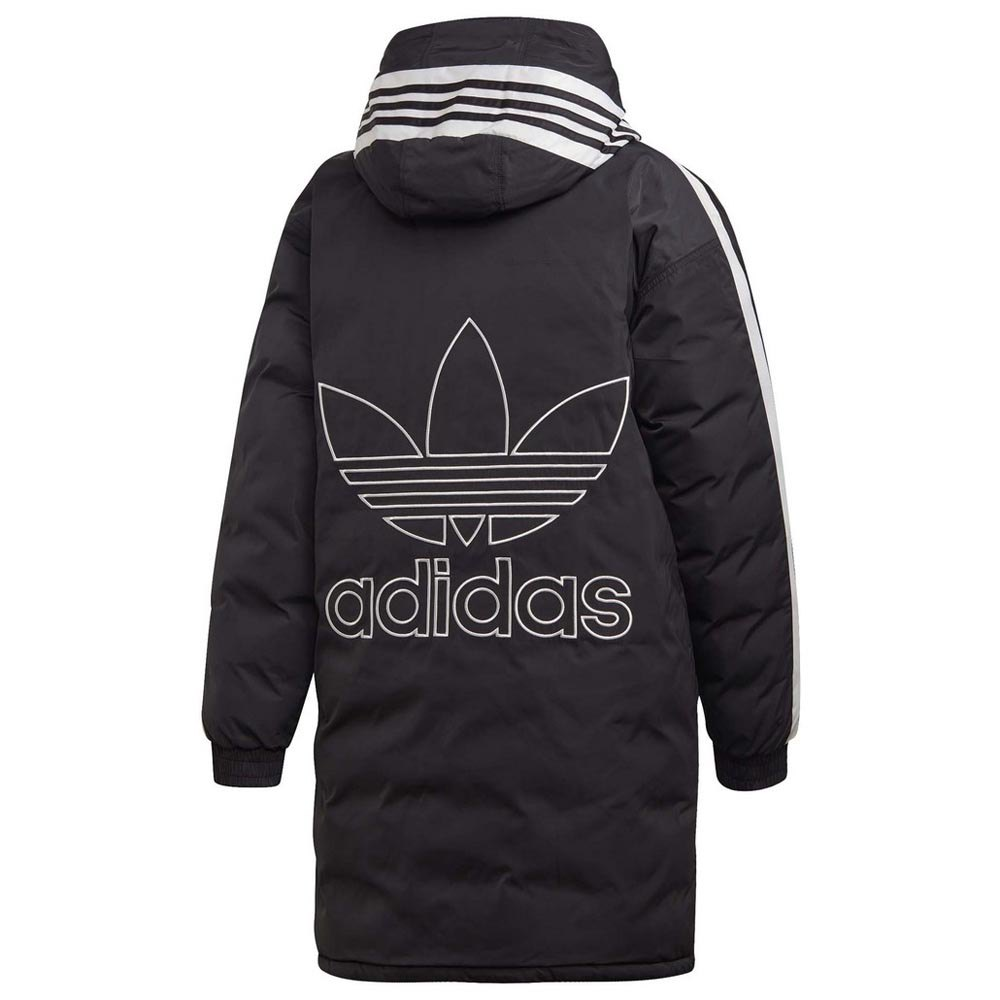 adidas Originals Long Syntetic dunjacka Svart
