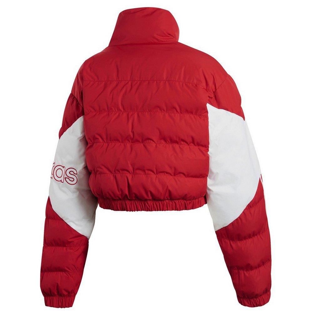 adidas originals Cropped Puffer Vermelho, Dressinn Casacos