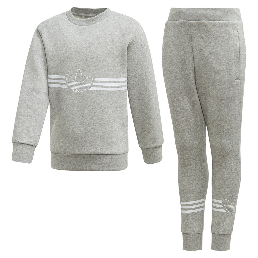 adidas Originals Apparel EQT Crew Sweatshirt Core Heather