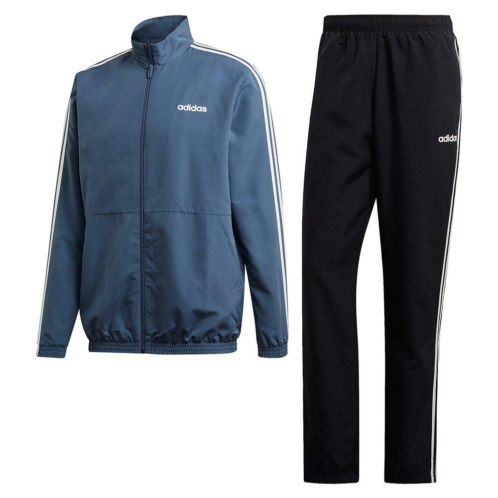 mode designer 61459 5497b adidas 3 Stripes Tracksuit Regular Blue, Dressinn