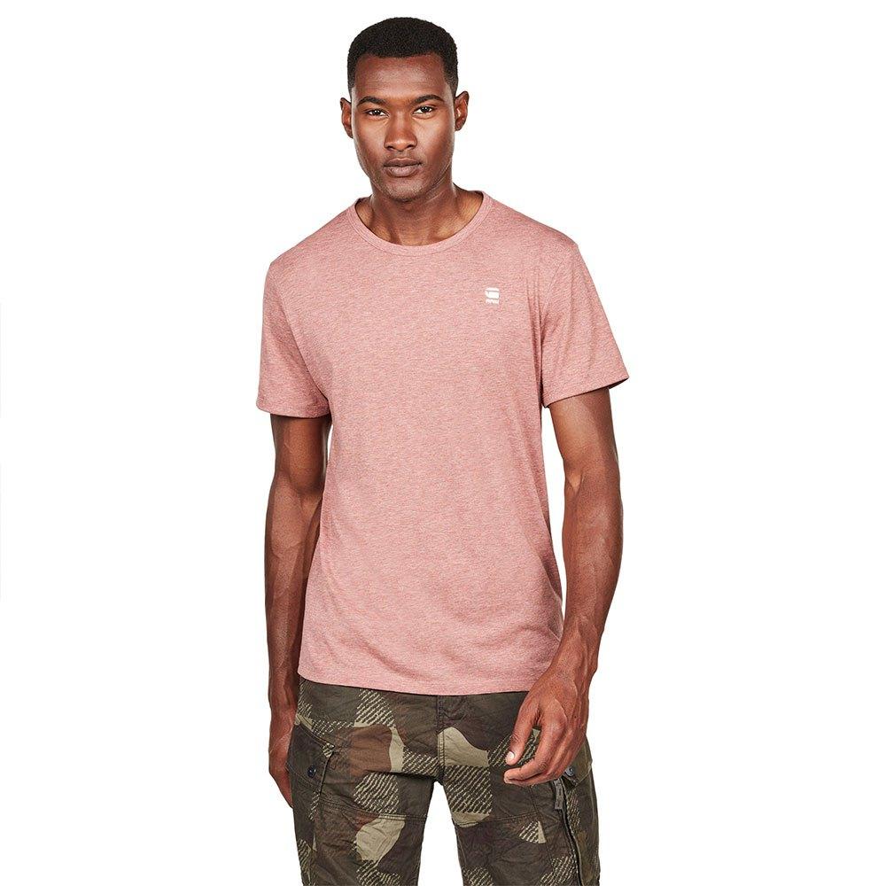G-Star Mens Base T-Shirt Pink
