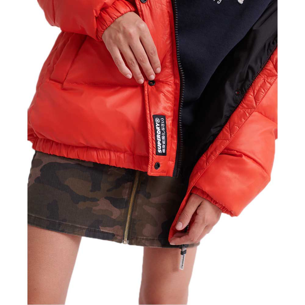 Superdry Astrid Puffer W Apple Red : Insulated jackets