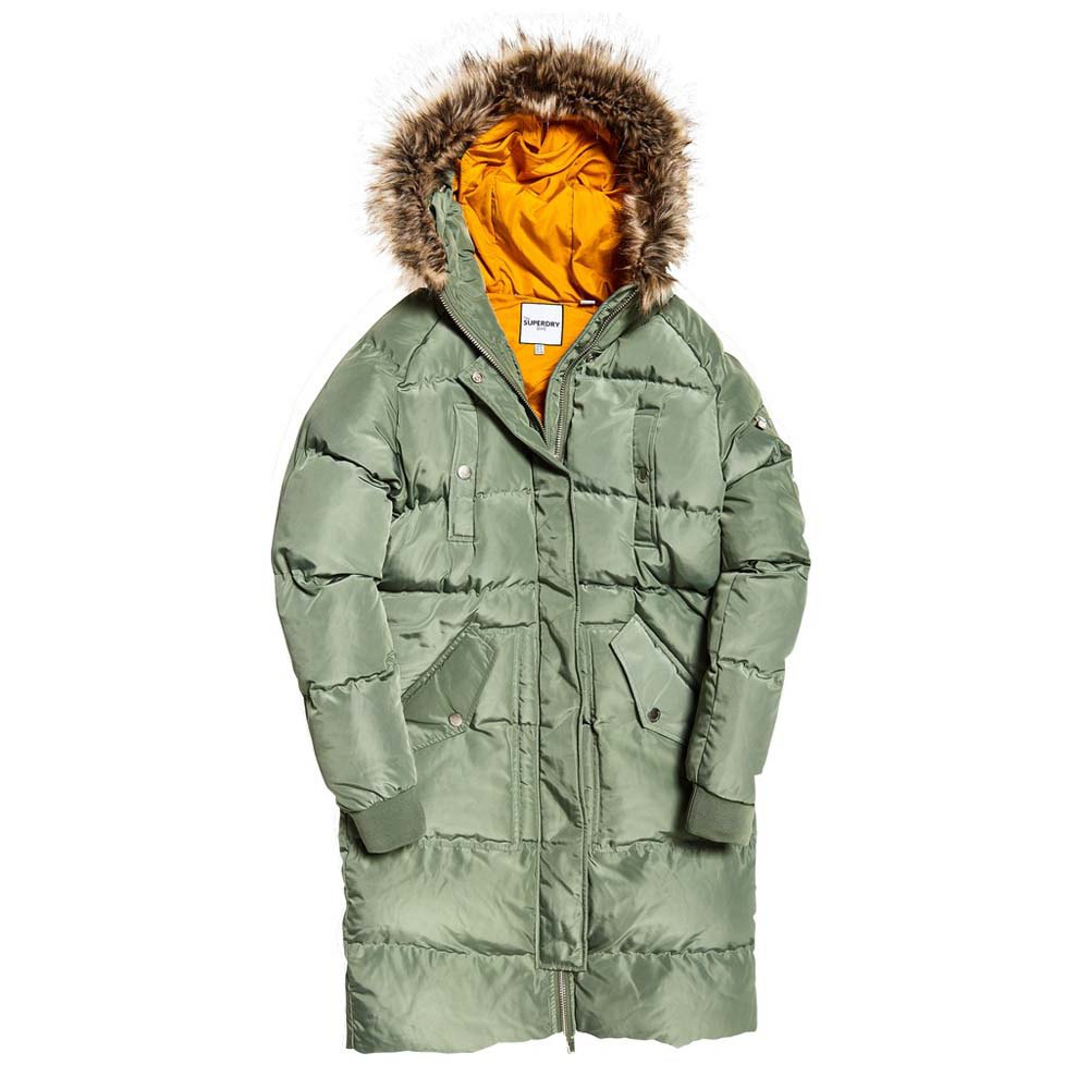 Superdry Luxe Longline Puffer