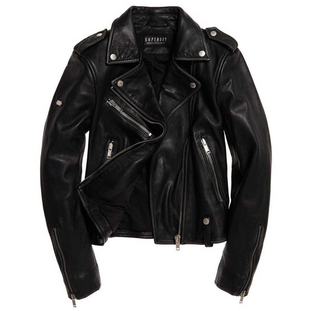 Superdry Rylee Leather Biker
