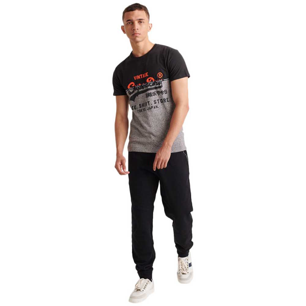 Superdry Shirt Shop Split Panel T skjorte Herre T skjorter
