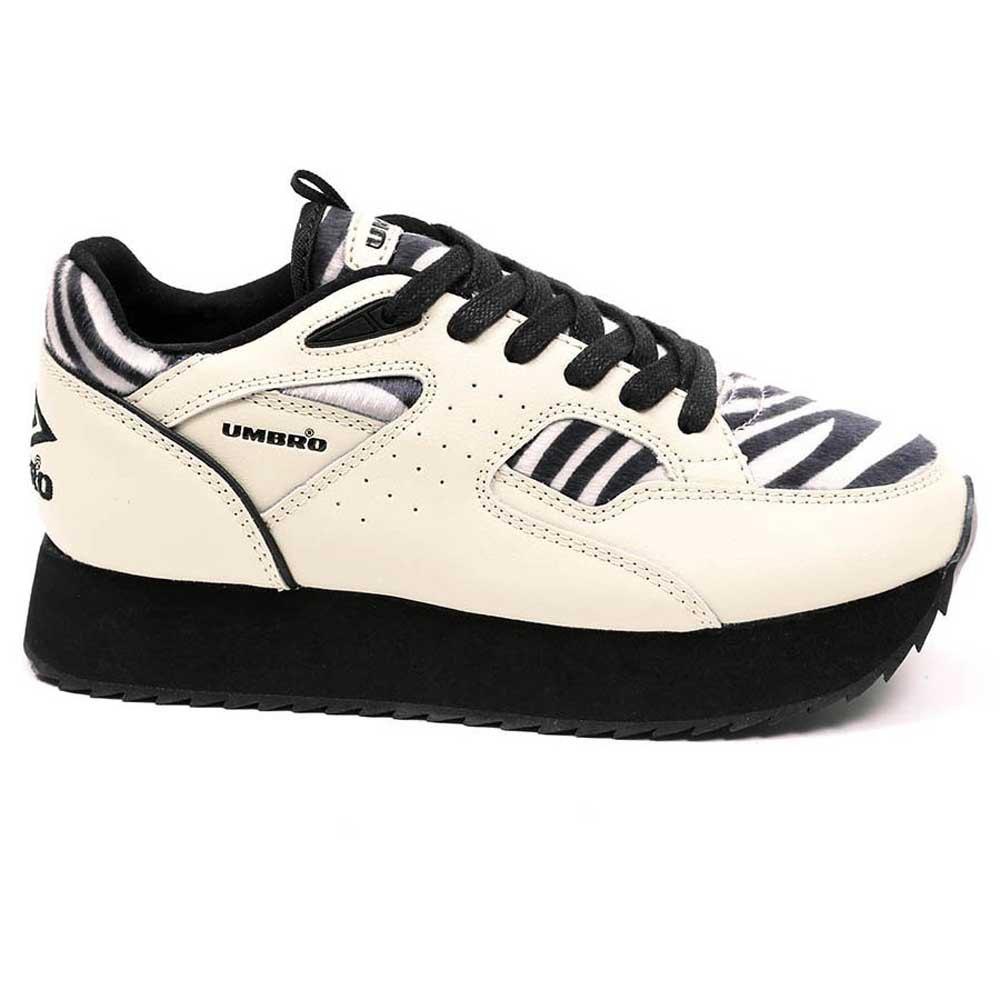 Umbro Elite Mundial Luxe EU 39 Off White / Black / Zebra / White