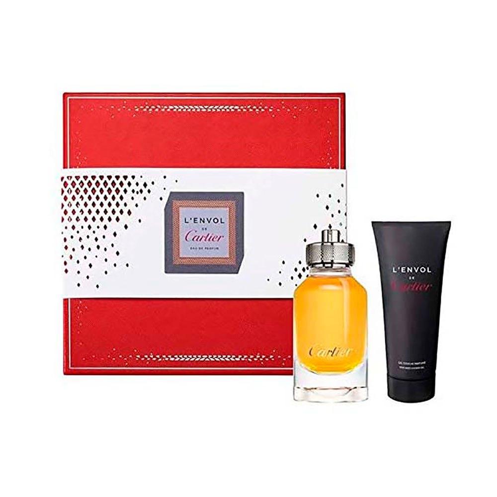 Cartier Lenvol Eau De Parfum Vapo 80ml+perfumed Shower Gel 100ml