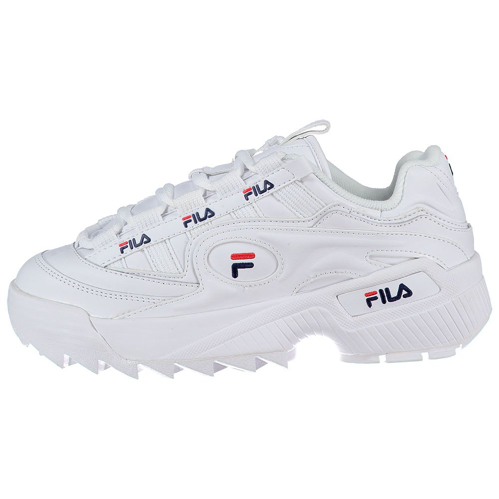 Fila D-formation EU 38 White / Fila Navy / Fila Red
