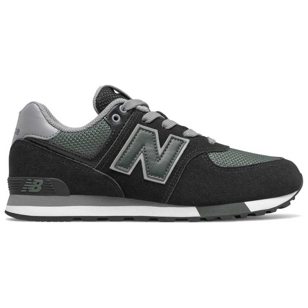 New balance 574 Grade School Black buy