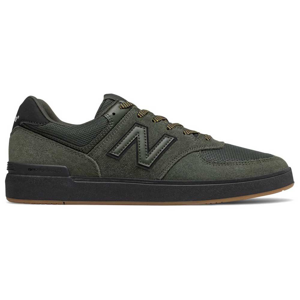 All Coasts 574 Shoes - Dark Green/Black