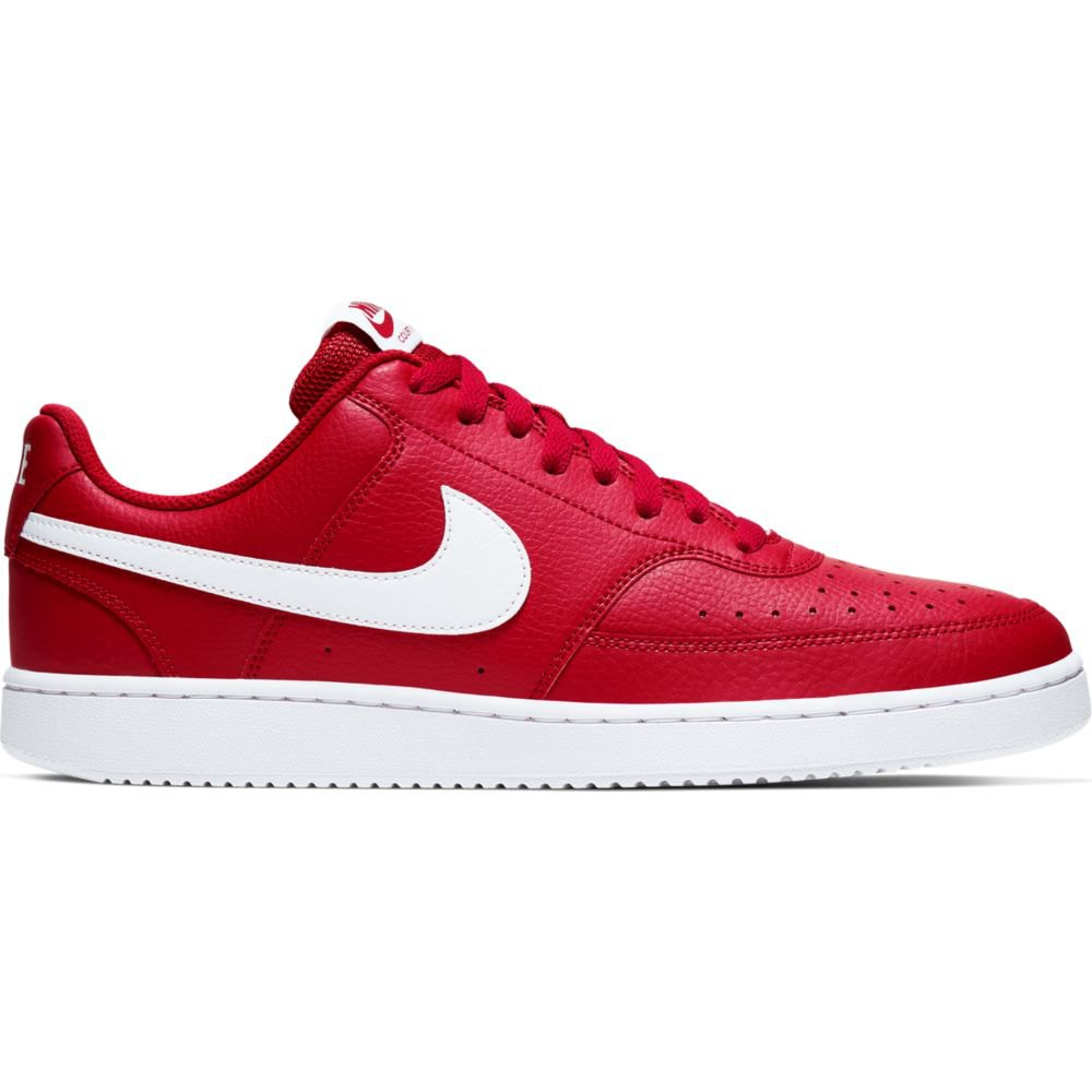Sneakers Nike Court Vision Low EU 45 1/2 Gym Red / White