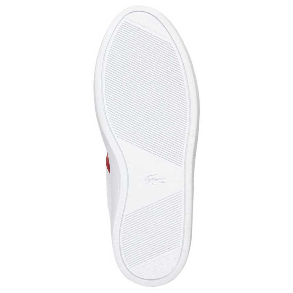 baskets-lacoste-courtline-leather-and-suede-eu-44-1-2-white-red