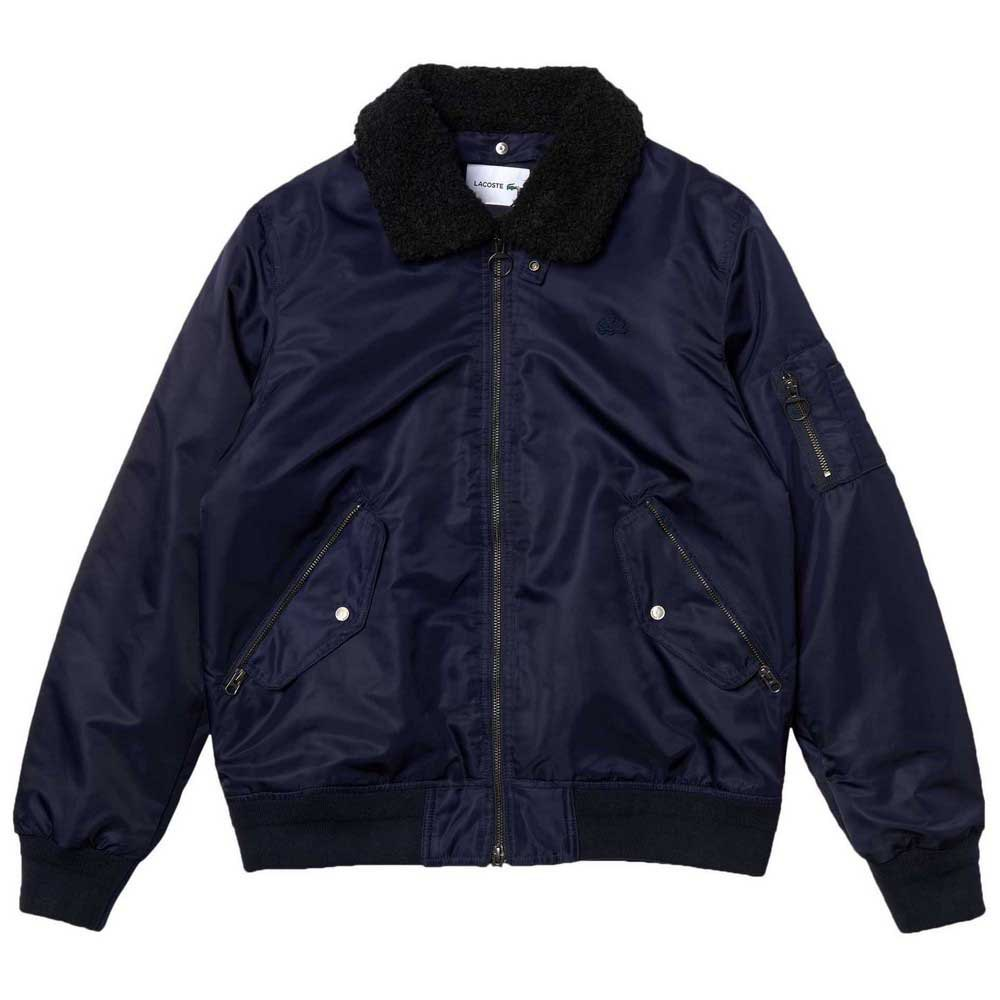 Lacoste Sherpa Collar Padded Bomber