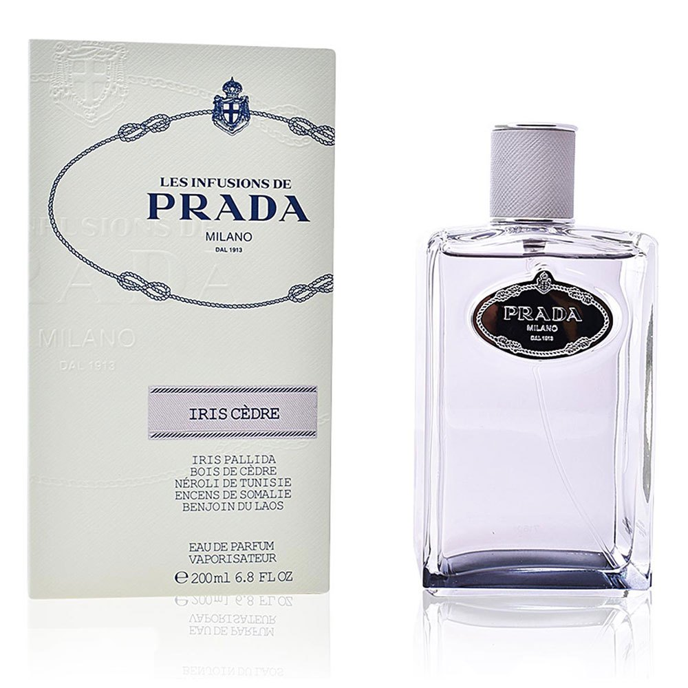 Perfumes femininos Prada Les Infusions Iris Cedre Vapo 200ml