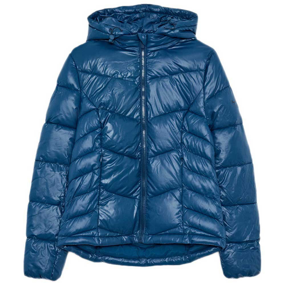 Pepe Jeans Blue 100% Polyester, Machine washable at 30°C. Padded coat |