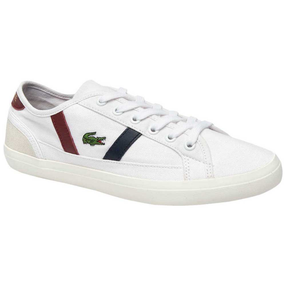 classic style latest discount latest discount Lacoste Sideline Canvas And Leather