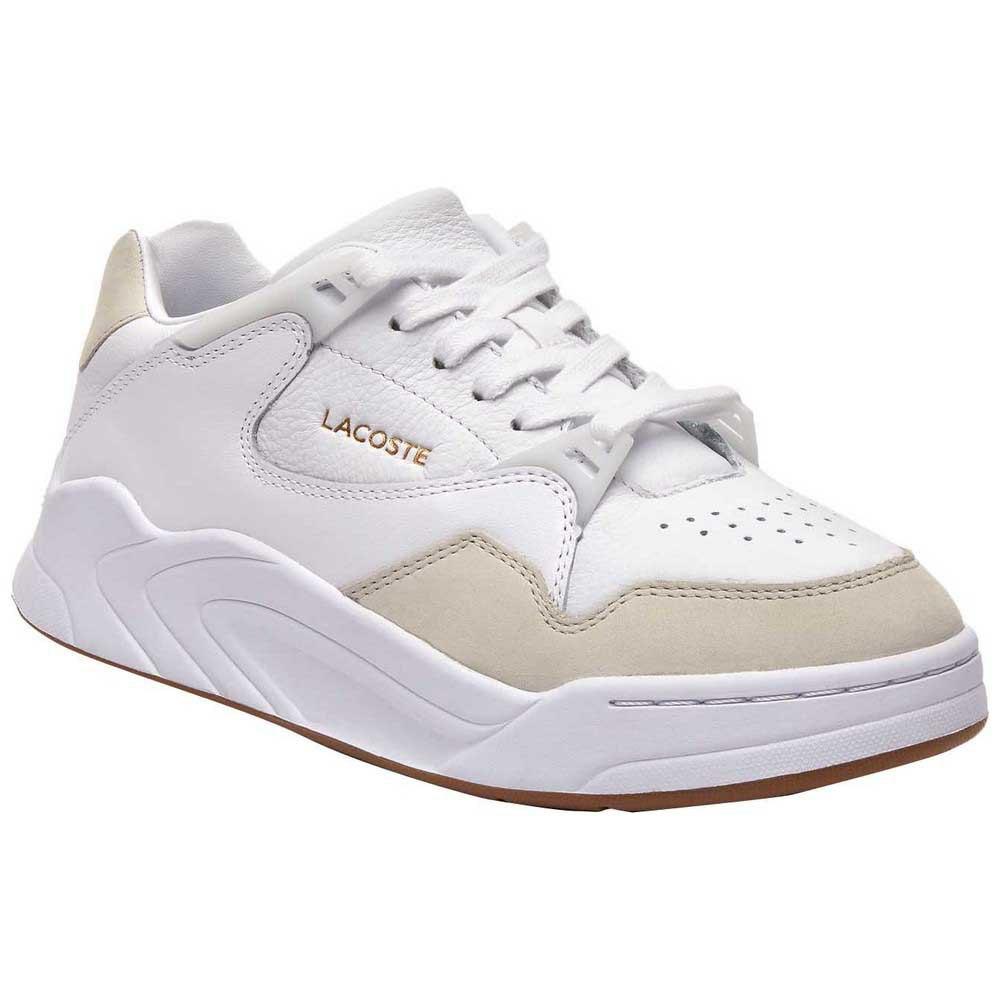 Sneakers Lacoste Court Slam Tonal Leather EU 37 1/2 White / Gum
