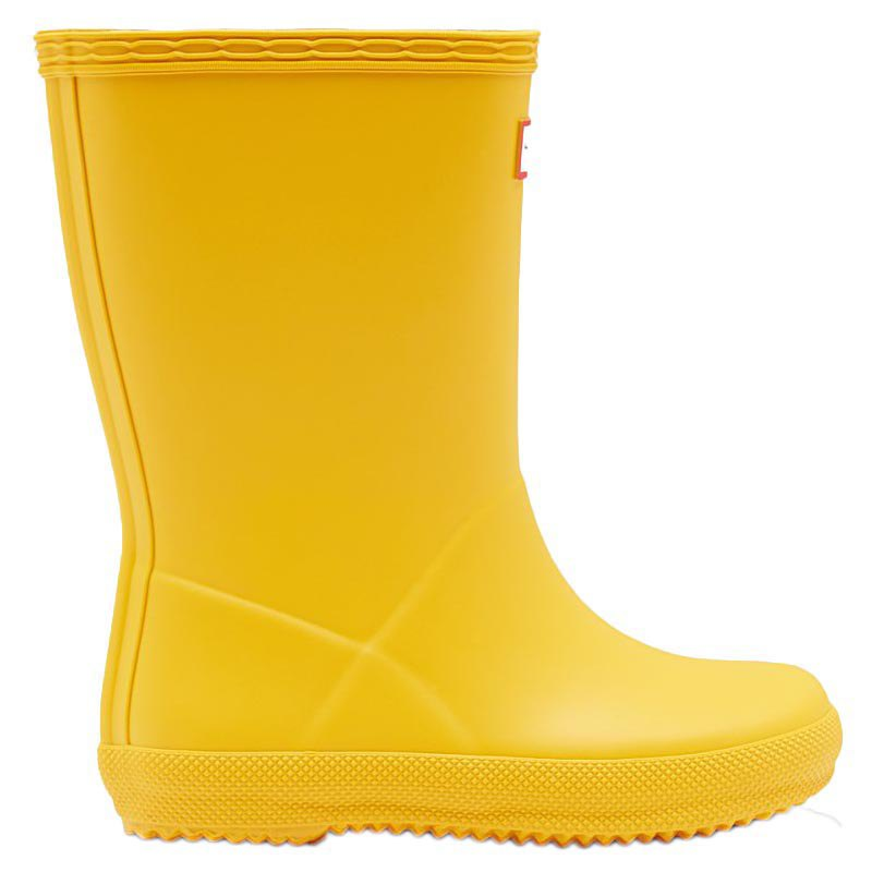 Hunter Original First Classic Amarelo Dressinn Botas E Sapatinhos