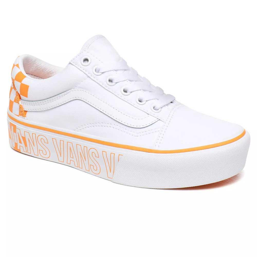 Vans Old Skool Platform Vit köp och erbjuder, Dressinn Sneakers