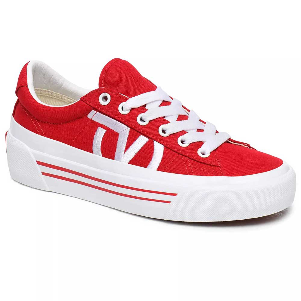 Vans Sid Ni EU 37 Racing Red / True White