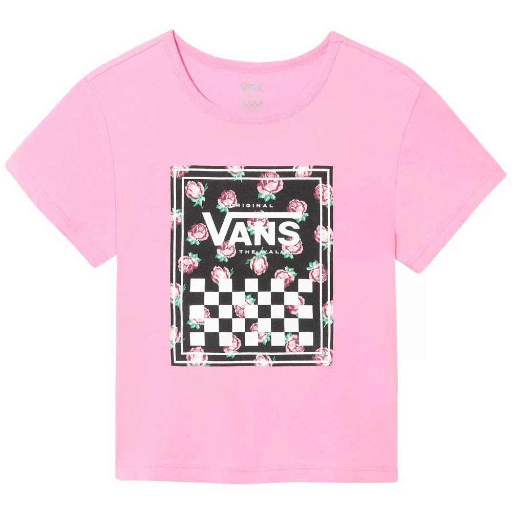 Vans Boxed Rose Short Sleeve T-Shirt Pink, Dressinn