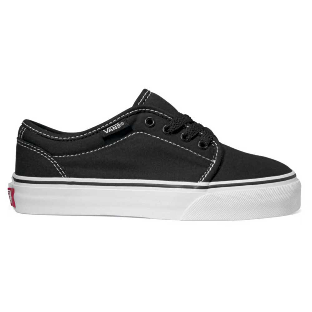 Vans 106 Vulcanized Junior EU 18 1/2 Black / True White