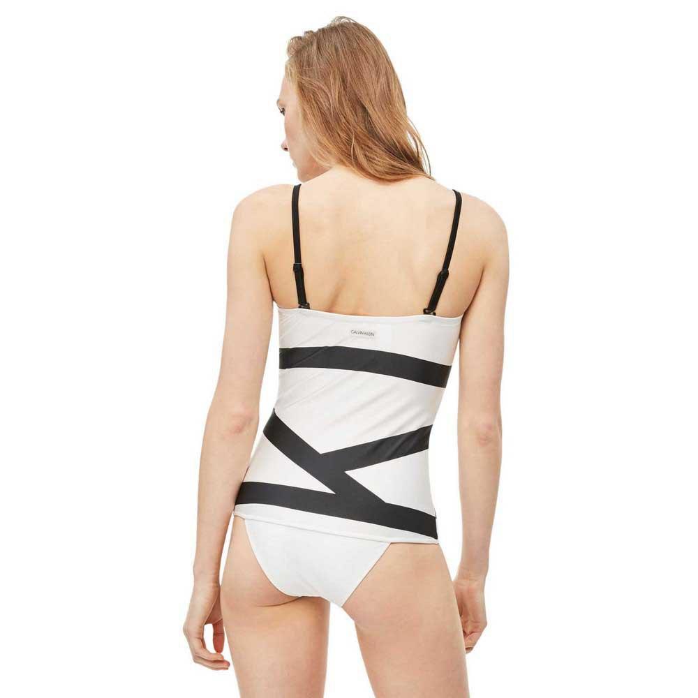 Calvin Klein White Fixed Triangle Mesh