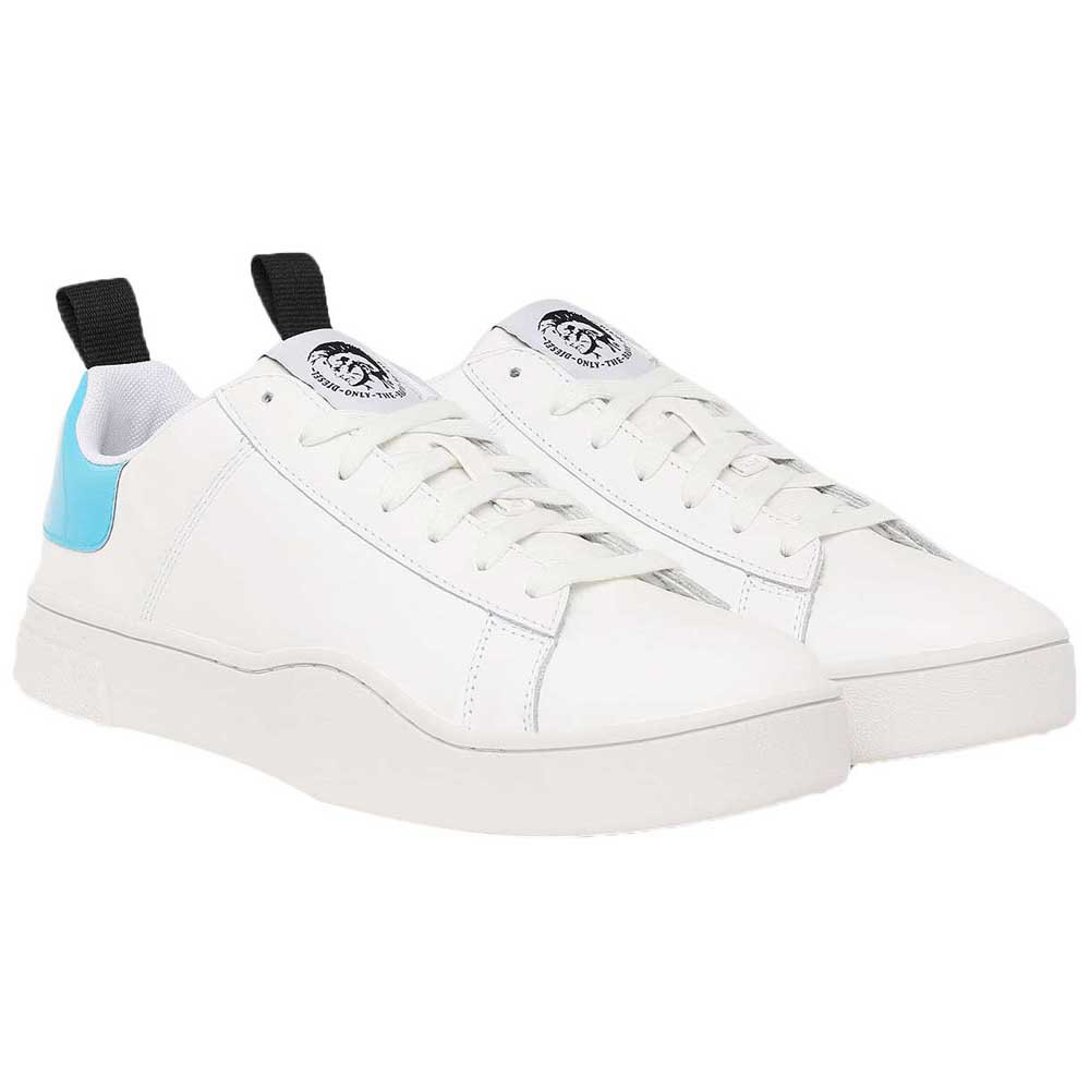 Sneakers Diesel Clever Low Lace EU 42 White / Blue Fluo