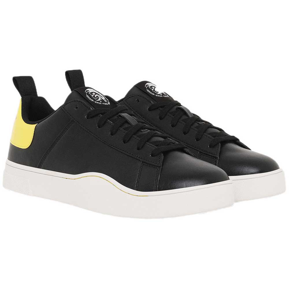 Sneakers Diesel Clever Low Lace EU 40 Black / Yellow Fluo