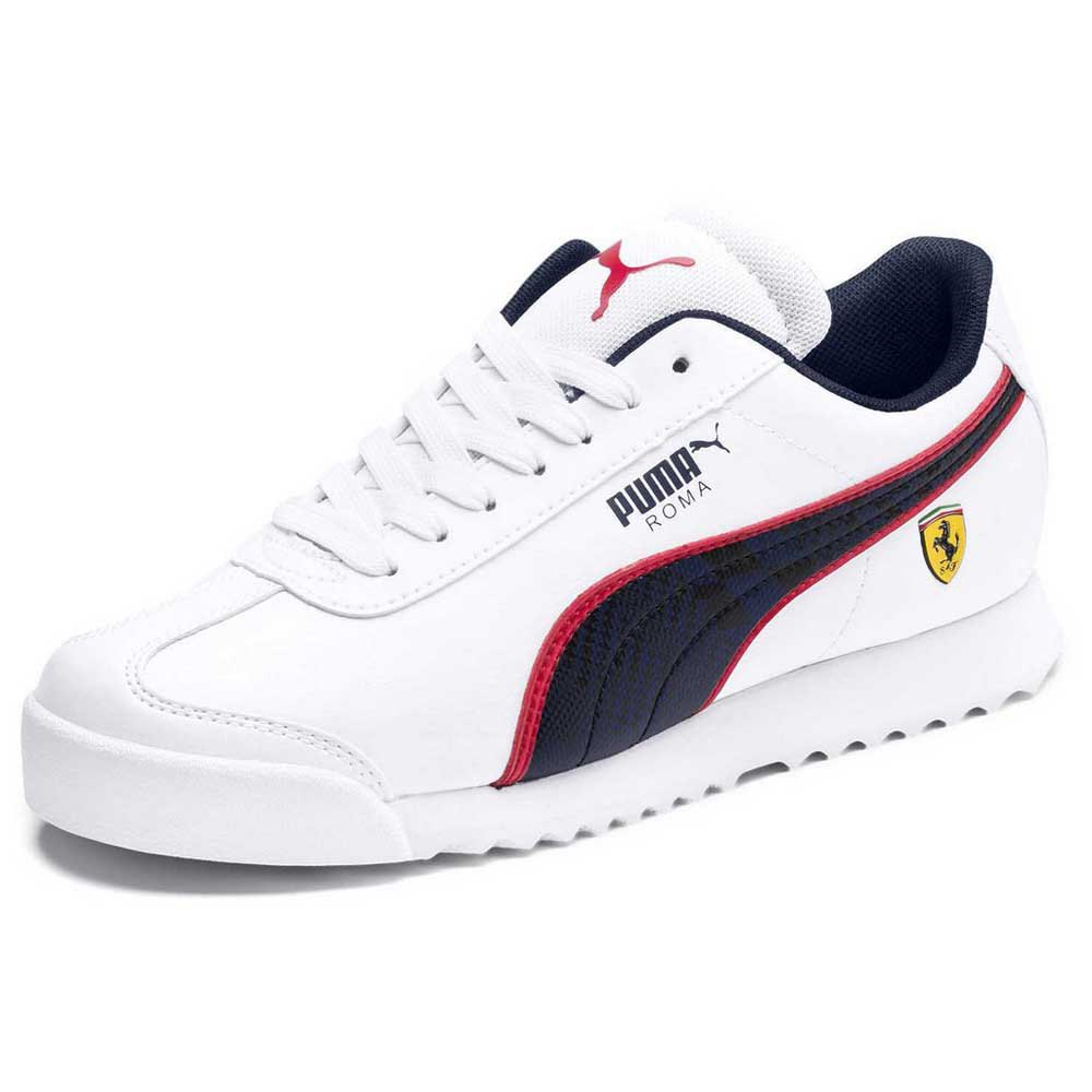 Puma Scuderia Ferrari Roma Junior White