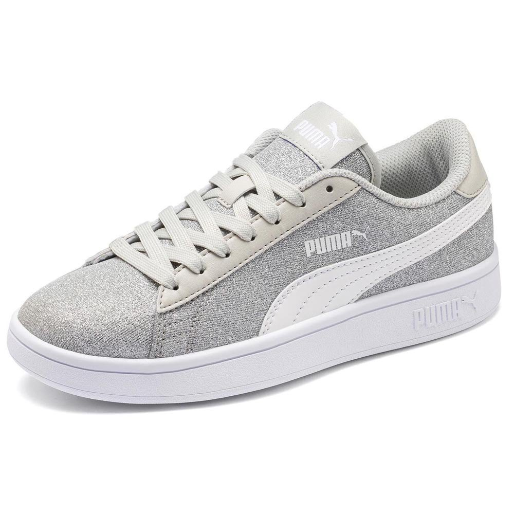 Puma Smash v2 Glitz Glam Junior Grey