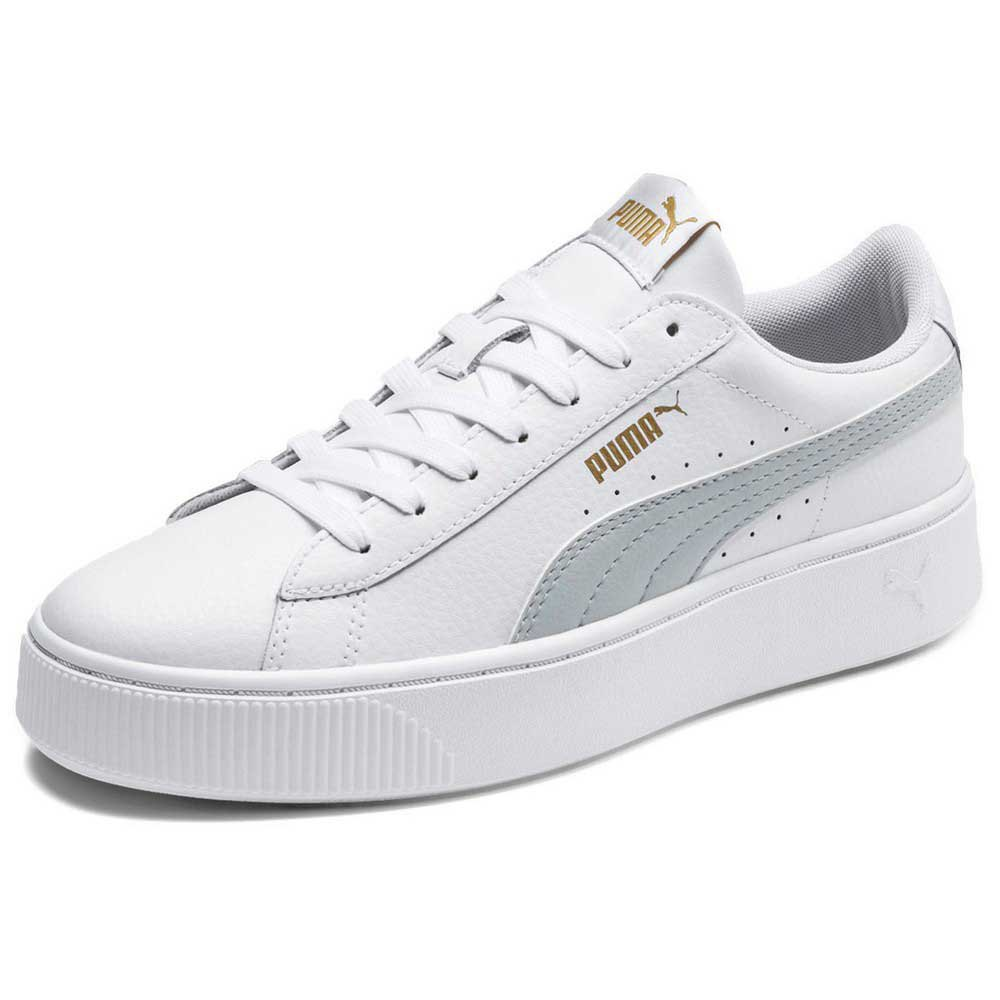 Puma Vikky Stacked L White buy and