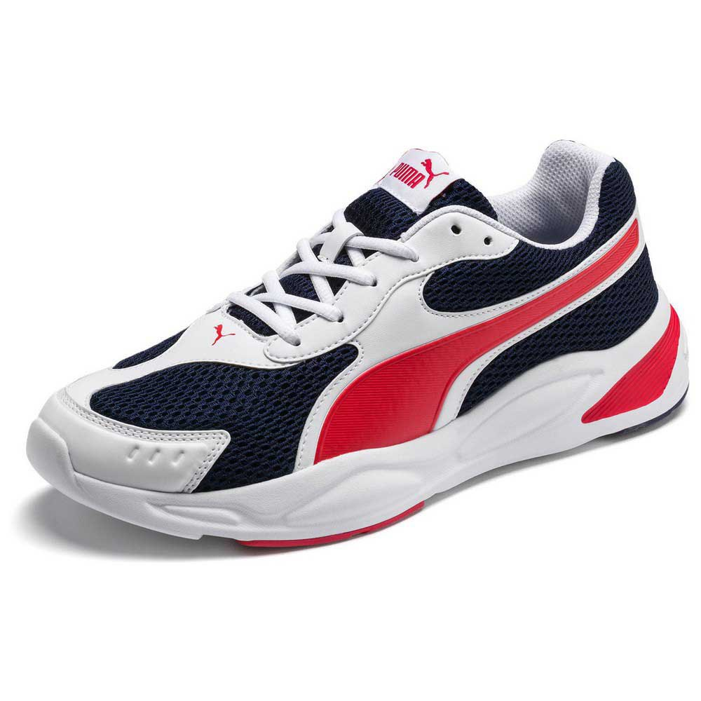 Puma 90s Runner EU 36 Puma White / Peacoat / High Risk Red