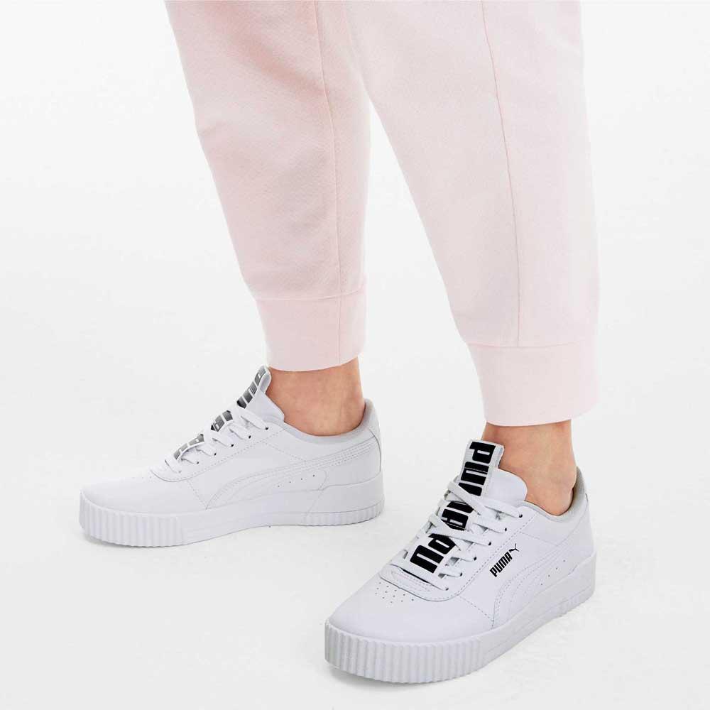 Puma Carina Bold White buy and offers on Dressinn