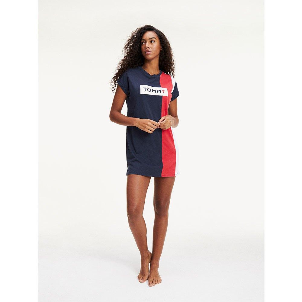 Tommy hilfiger Colour Blocked T Shirt Kleid Blau, Dressinn