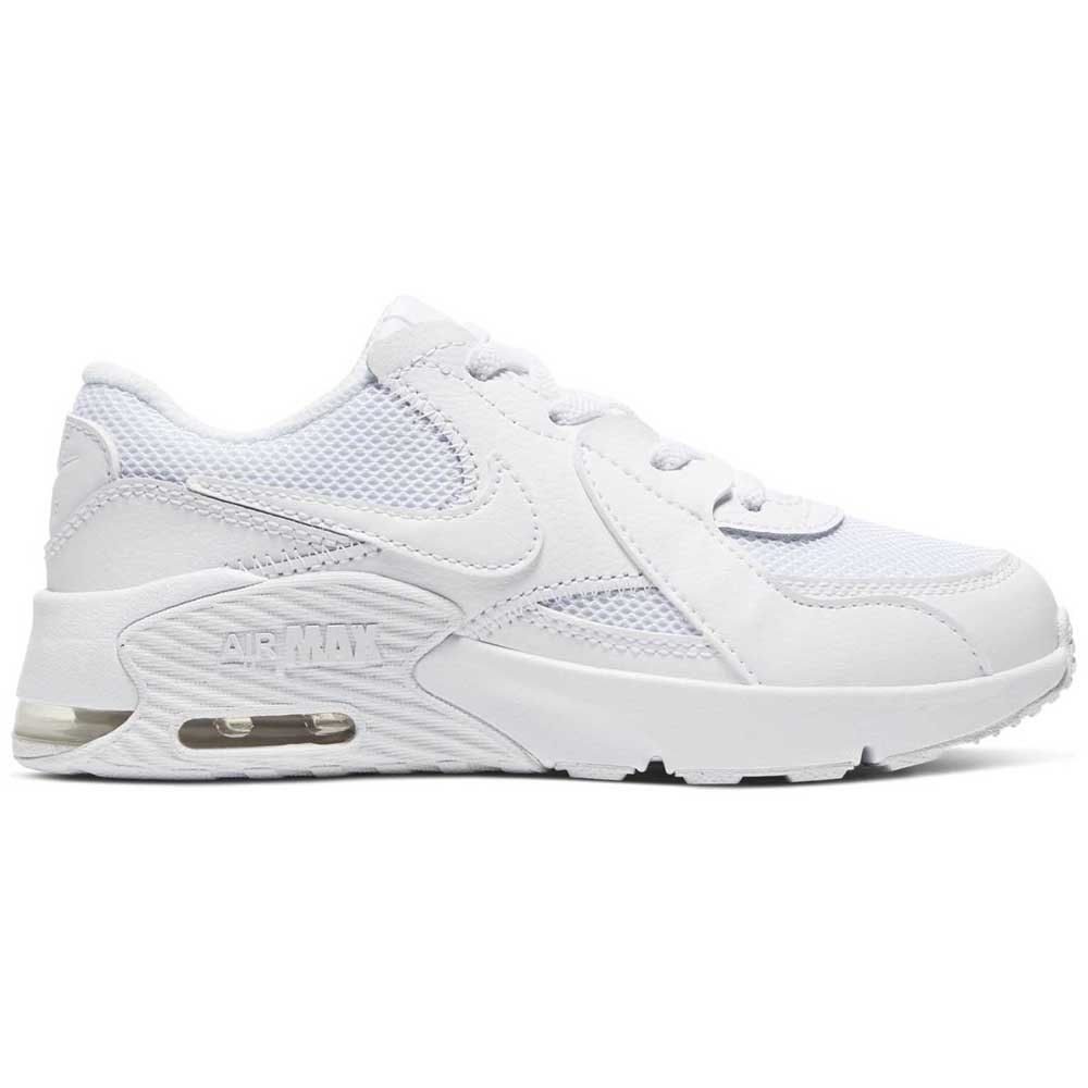 Nike Air Max Excee Ps EU 33 1/2 White / White / White