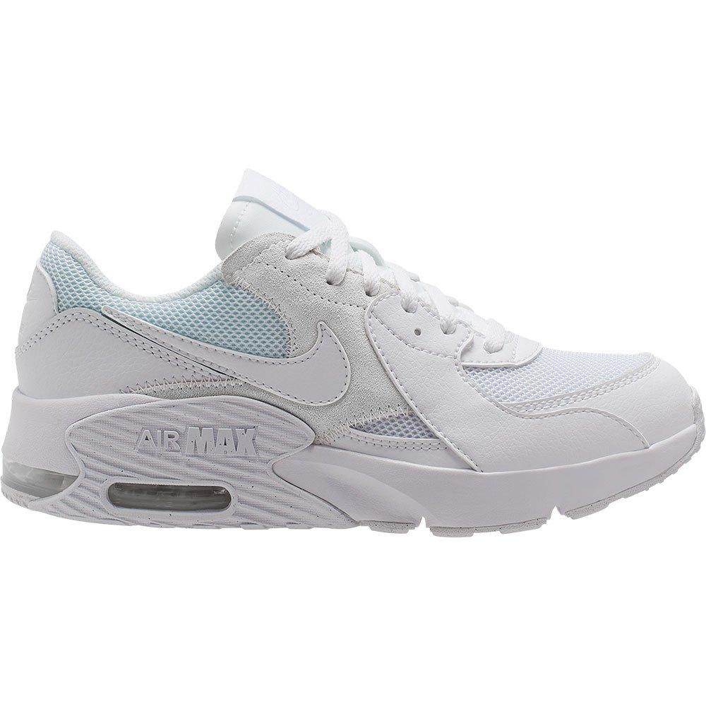 Nike Air Max Excee Gs EU 38 1/2 White / White / White