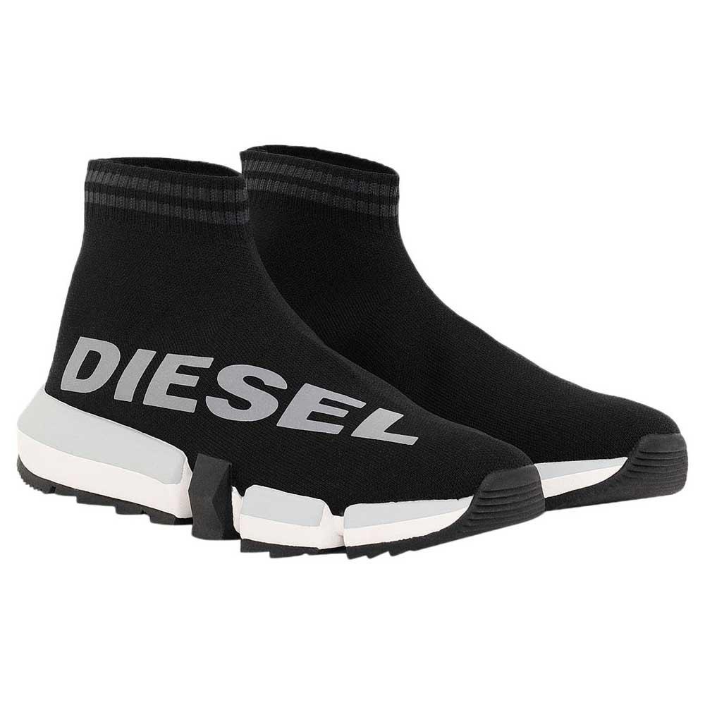 Diesel Padola Mid Sock Black buy and