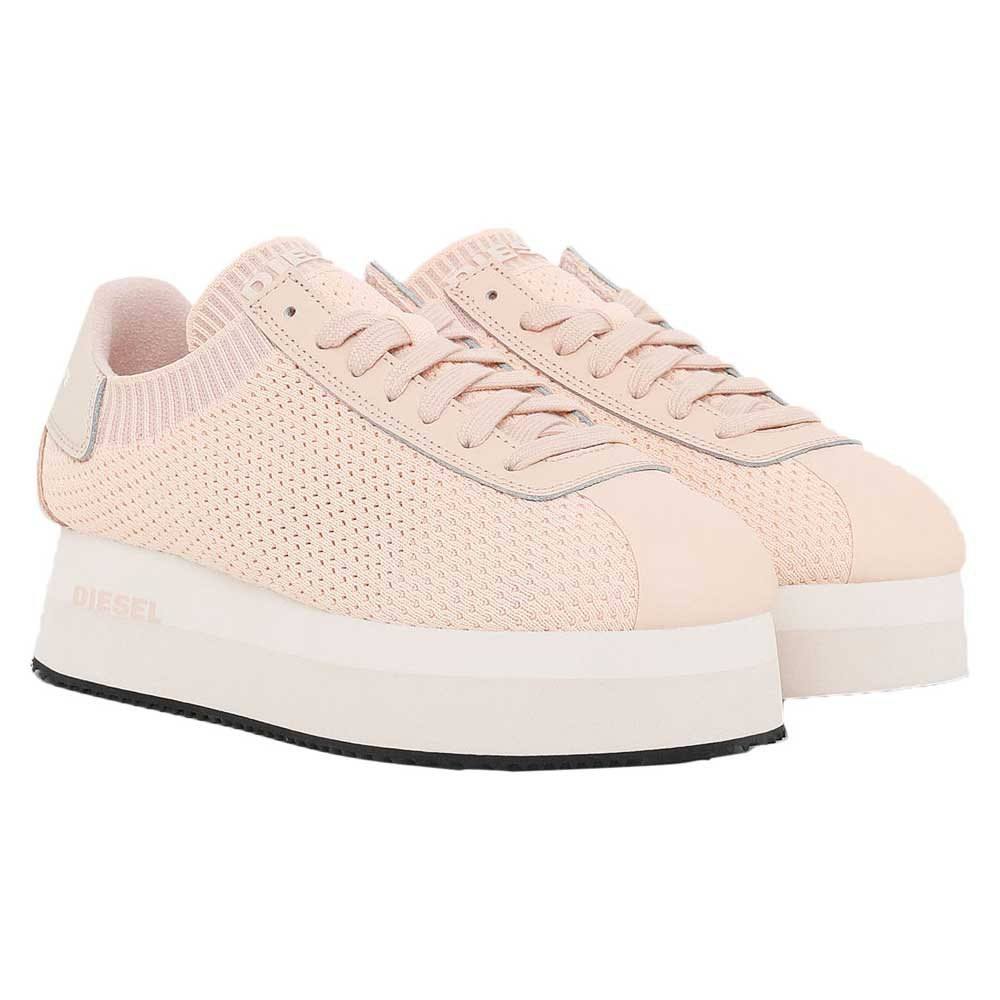 Sneakers Diesel Pyave Wedge Et EU 40 Cream Tan