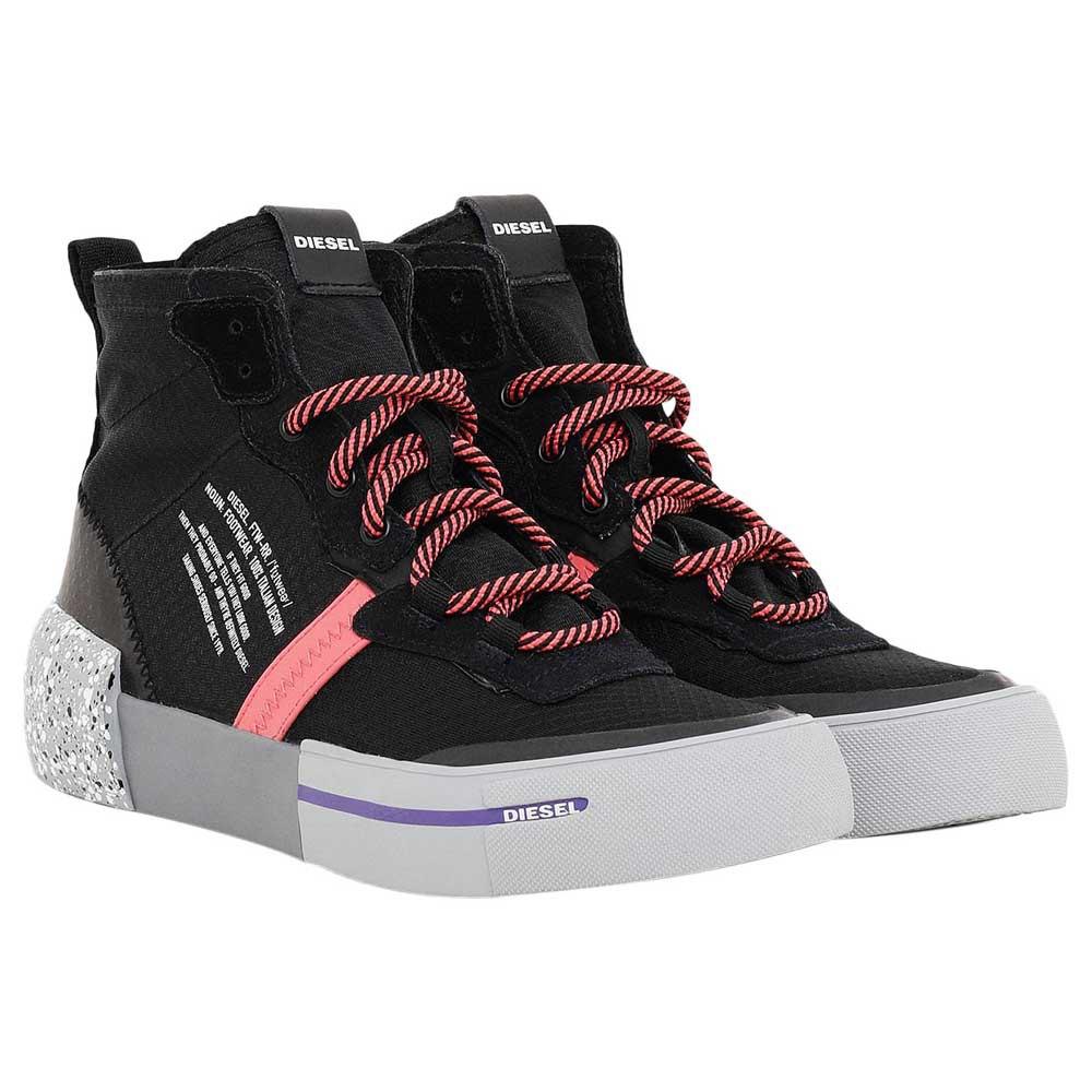 Sneakers Diesel Dese Rc Mid EU 40 Black / Dark Shadow / Sugar Coral
