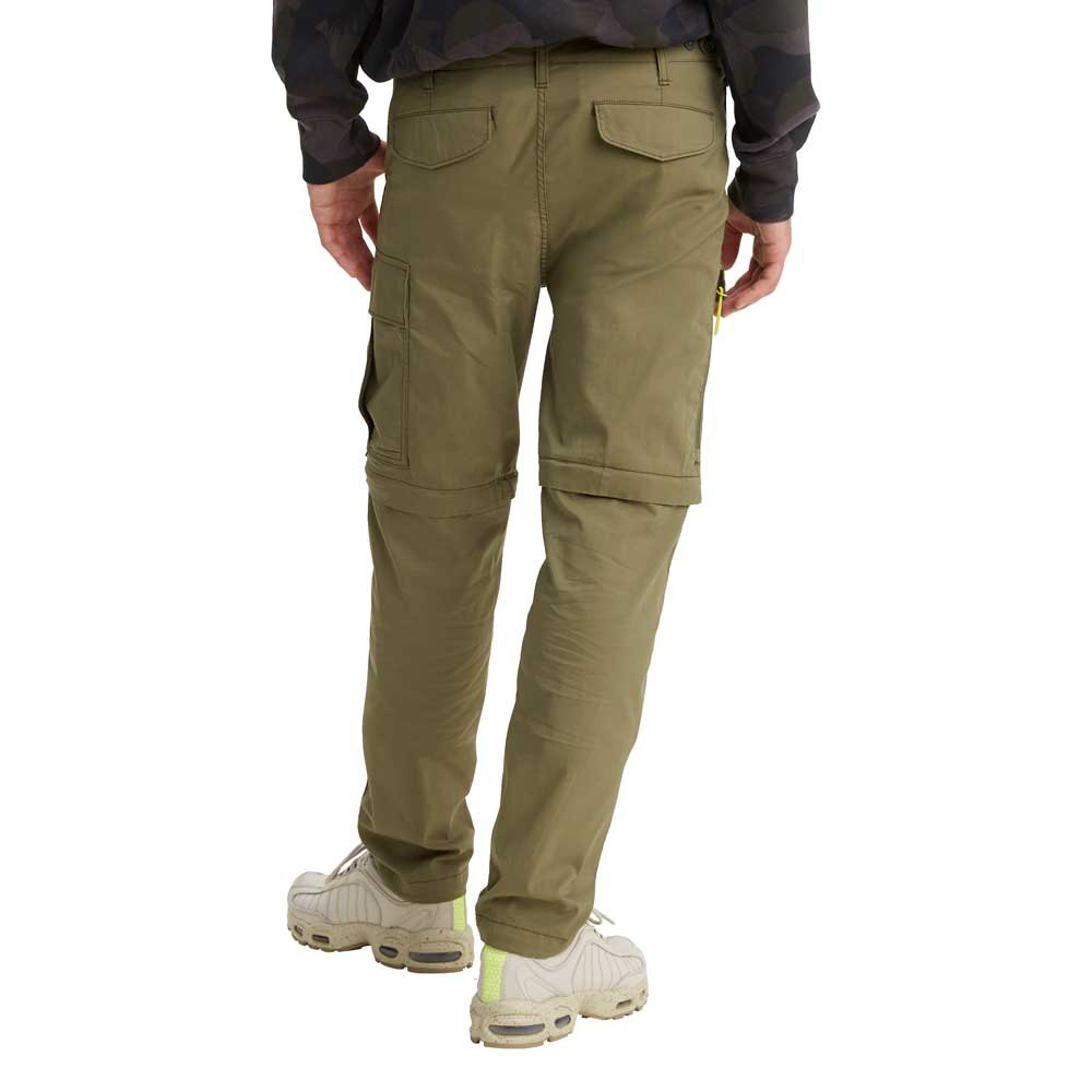 Levi S Lo Ball Zip Off Cargo Green Buy And Offers On Dressinn