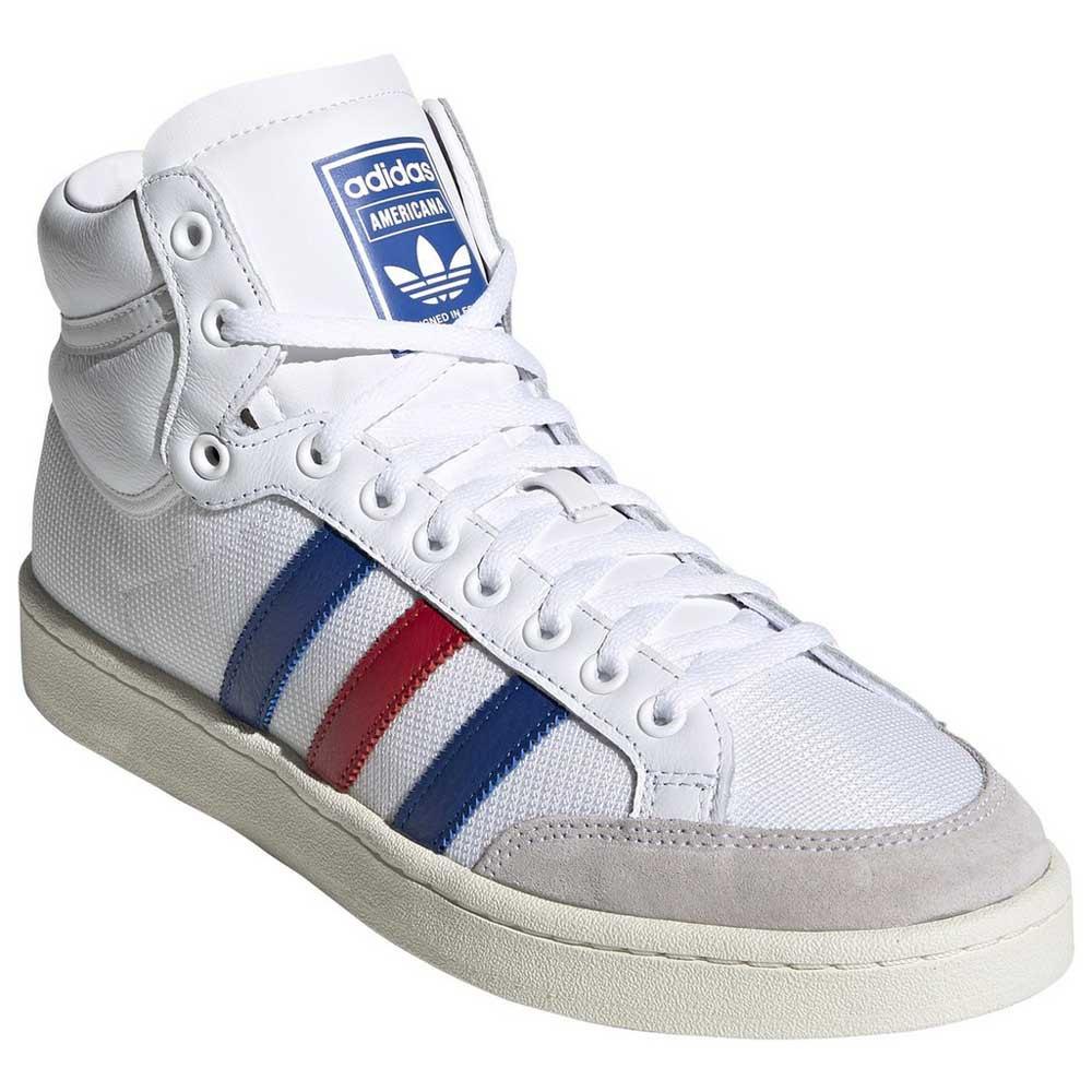 Distracción medallista proporción  adidas originals Americana High White buy and offers on Dressinn