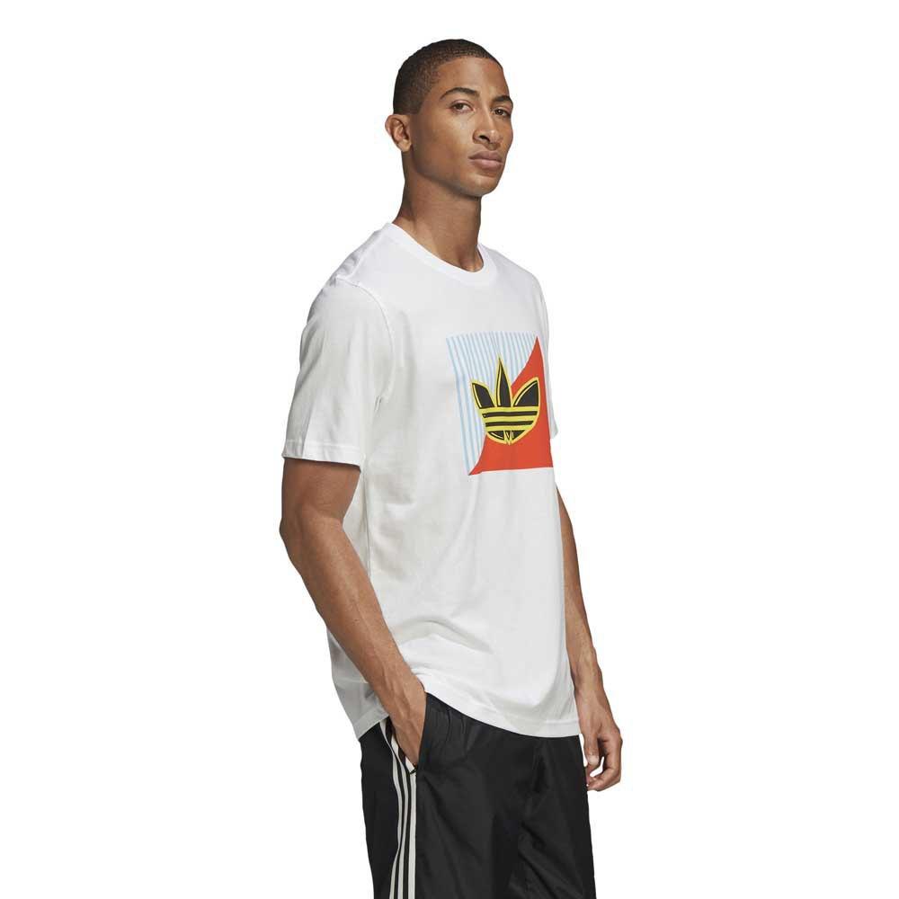 adidas originals Diagonal Logo White buy and offers on Dressinn
