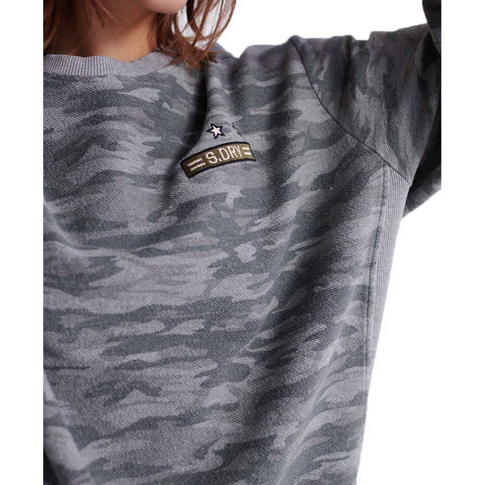 Superdry Dry Camo Patch Crew