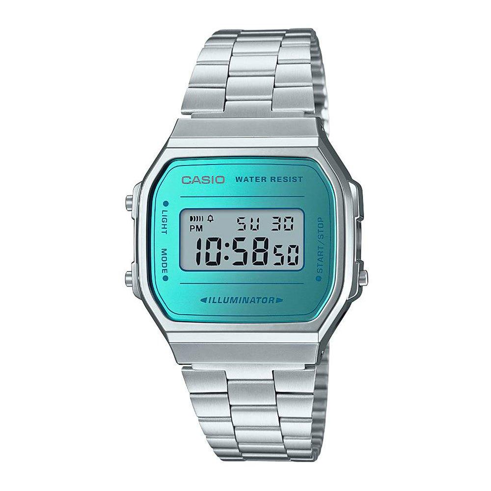 Relógios Casio Vintage A168wem-2ef One Sieze Stainless Steel