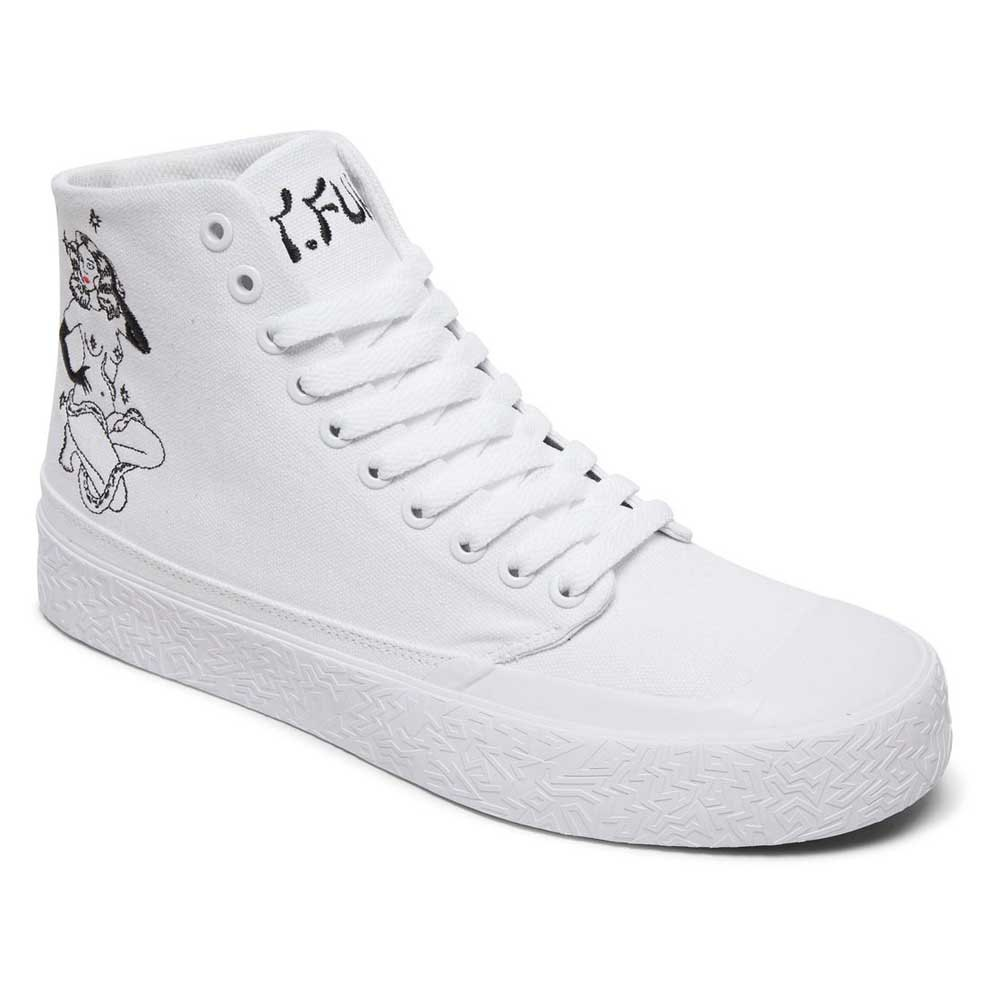 Sneakers Dc-shoes Tfunk Hi X Tati EU 44 White / Black