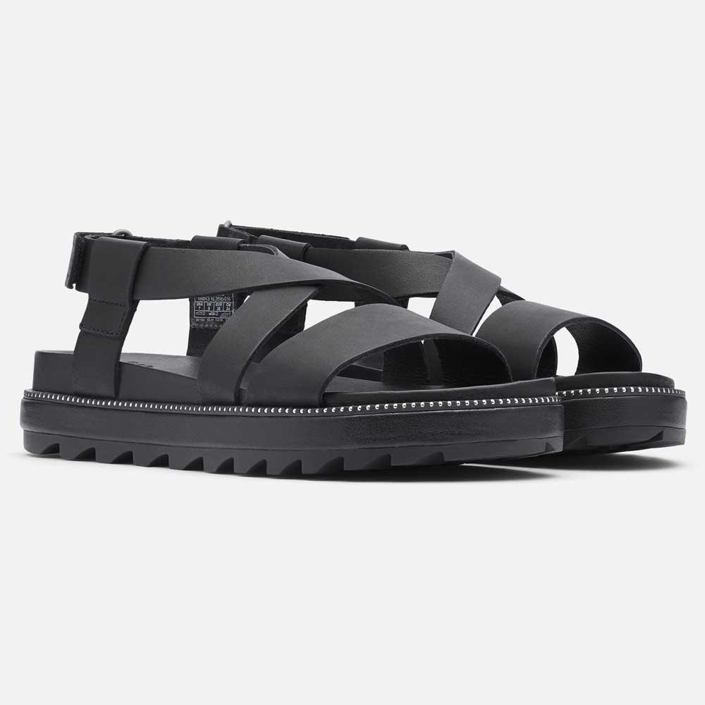Kjøp Sorel Roaming Criss Cross Sandal Black sko Online