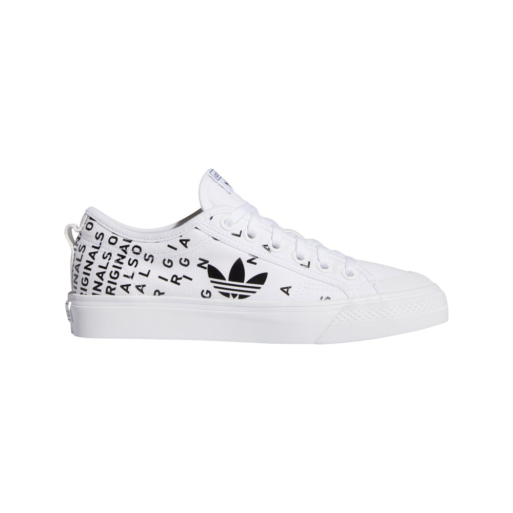 adidas originals Nizza Trefoil White