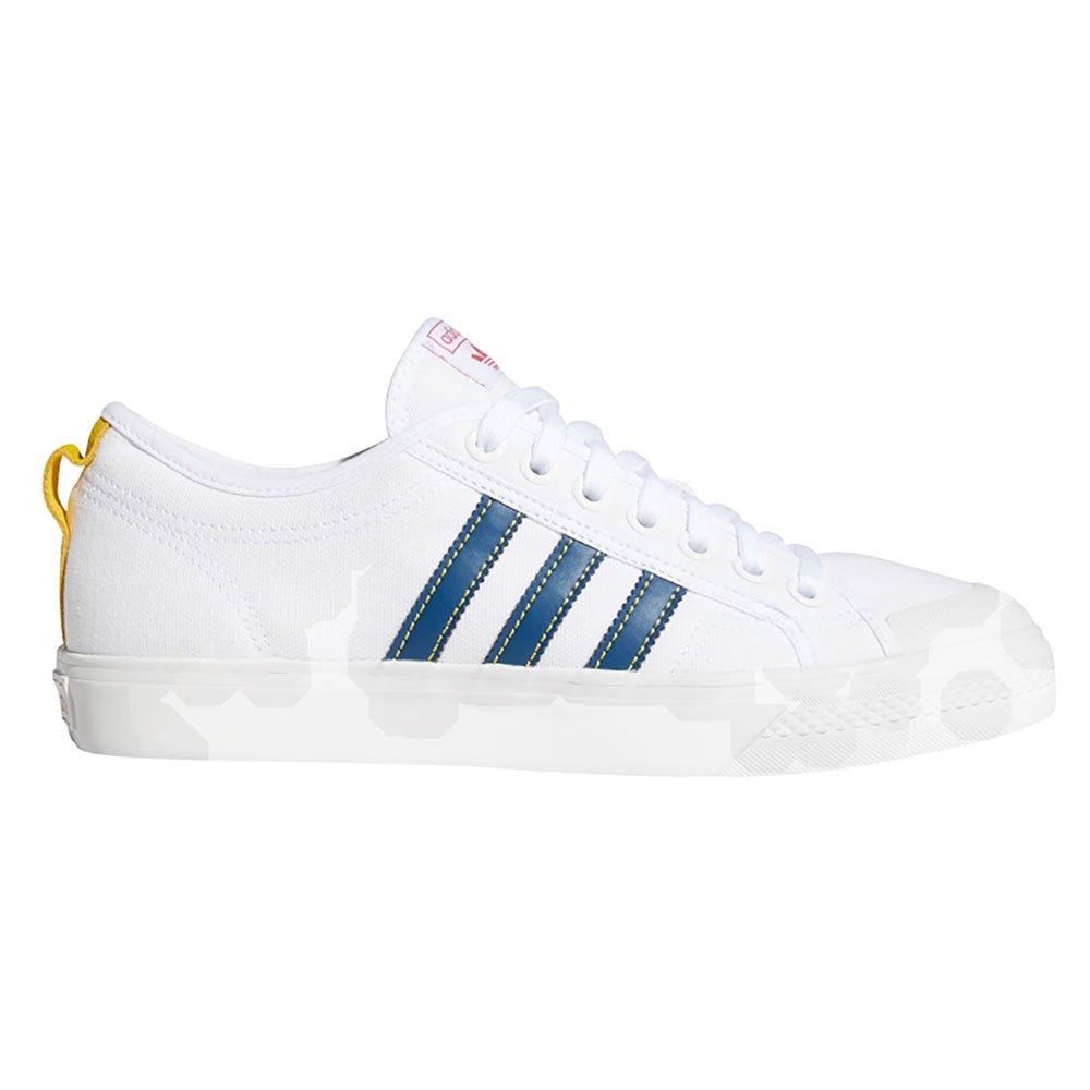 Adidas-originals Nizza EU 46 2/3 Footwear White / Legend Marine / Tribe Yellow